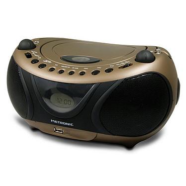 Metronic Radio CD/MP3 Pop Copper & Black