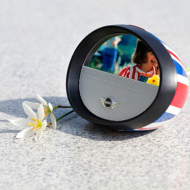 Mini Mirror Boombox Union Jack pas cher