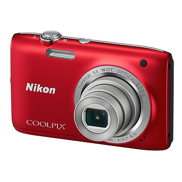 Avis Nikon Coolpix S2800 Rouge