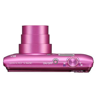 Acheter Nikon Coolpix S3600 Rose Lineart