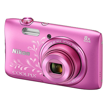 Avis Nikon Coolpix S3600 Rose Lineart