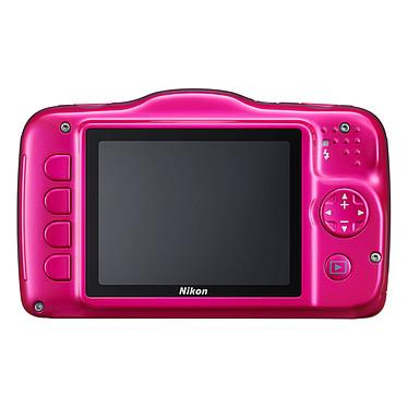 Nikon Coolpix S32 Rose pas cher