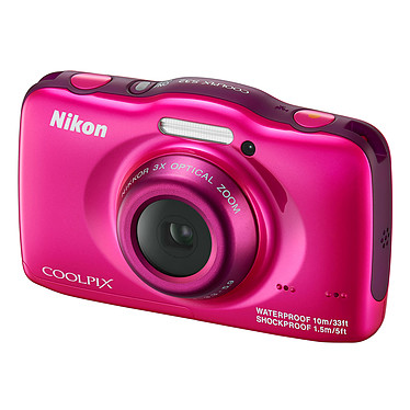 Avis Nikon Coolpix S32 Rose