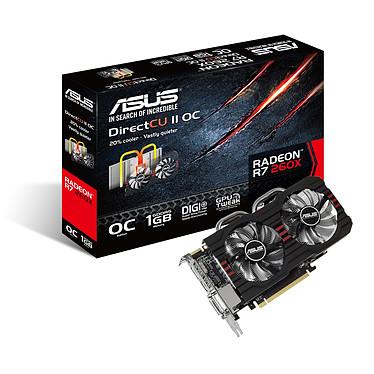ASUS Radeon R7 260X R7260X-DC2OC-1GD5 1 Go Dual DVI/HDMI/DisplayPort - PCI Express (AMD Radeon R7 260X)