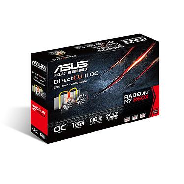 ASUS Radeon R7 260X R7260X-DC2OC-1GD5 pas cher