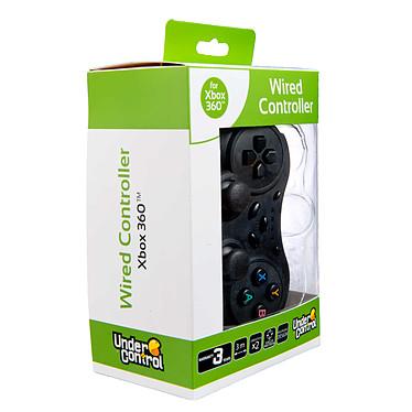 Under Control Manette filaire Noire (Xbox 360)  pas cher