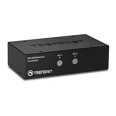 TRENDnet TK-222DVK Kit de Switch KVM DVI à 2 ports