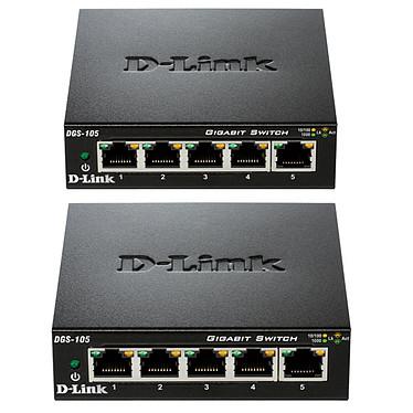 D-Link DGS-105 x2