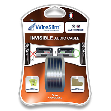 WireSlim Invisible Audio Cable (5 mètres)