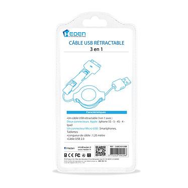 Acheter Heden Câble de rechargement 3 en 1