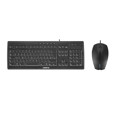 Cherry Stream XT Corded MultiMedia Keyboard + Cherry Gentix Corded Optical Mouse OFFERTE !