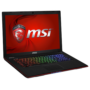 "MSI GE70 2PE-206XFR Apache Pro Intel Core i5-4200H 4 Go 1 To 17.3"" LED NVIDIA GeForce GTX 860M Graveur DVD Wi-Fi AC/Bluetooth Webcam FreeDOS (garantie constructeur 1 an)"