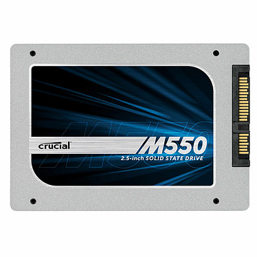 "Crucial M550 512 Go SSD 512 Go 2.5"" 7mm Serial ATA 6Gb/s"