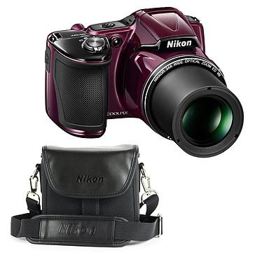 Nikon Coolpix L830 Violet + Nikon CS-P08 Noir