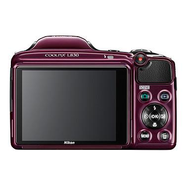 Nikon Coolpix L830 Violet + Nikon CS-P08 Noir pas cher