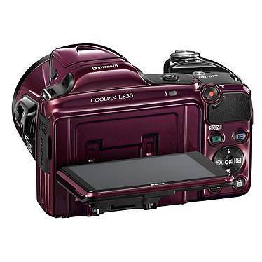 Acheter Nikon Coolpix L830 Violet + Nikon CS-P08 Noir