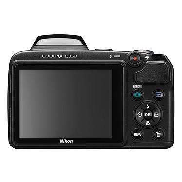 Nikon Coolpix L330 Noir + Nikon CS-P08 Noir pas cher