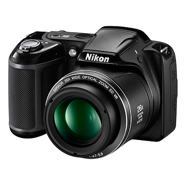 Avis Nikon Coolpix L330 Noir + Nikon CS-P08 Noir