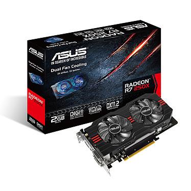 ASUS Radeon R7 250X R7250X-2GD5 2 Go Dual DVI/HDMI/DisplayPort - PCI Express (AMD Radeon R7 250X)