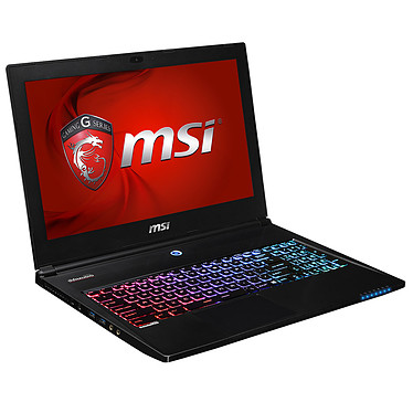 "MSI GS60 2PC-027FR Ghost Intel Core i7-4700HQ 8 Go SSD 128 Go + HDD 1 To 15.6"" LED NVIDIA GeForce GTX 860M Wi-Fi AC/Bluetooth Webcam Windows 8.1 64 bits (garantie constructeur 1 an)"