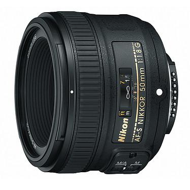 Nikon AF-S NIKKOR 50 mm f/1.8G Objectif 50 mm standard au format FX