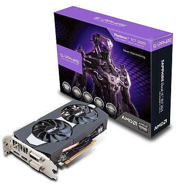 Sapphire Radeon R7 265 2G GDDR5 Dual-X 2 Go DVI/HDMI/DisplayPort - PCI Express (AMD Radeon R7 265)