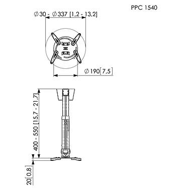Acheter Vogel's Pro PPC 1540