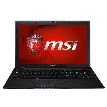 "MSI GP60 2PE-625XFR Leopard Intel Core i7-4710HQ 4 Go 1 To 15.6"" LED NVIDIA GeForce 840M Graveur DVD Wi-Fi AC/Bluetooth Webcam FreeDOS (garantie constructeur 1 an)"