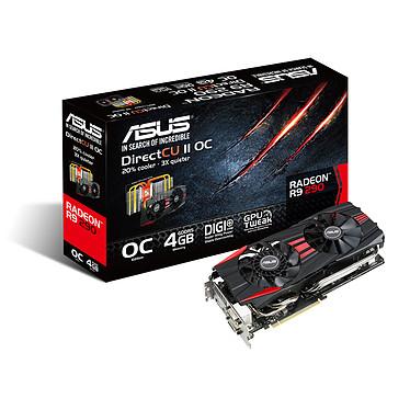 ASUS Radeon R9 290 R9290-DC2OC-4GD5 4 Go Dual DVI/HDMI/DisplayPort - PCI Express (AMD Radeon R9 290)