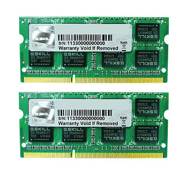 G.Skill SO-DIMM 8 Go (2 x 4 Go) DDR3 1333 MHz CL9