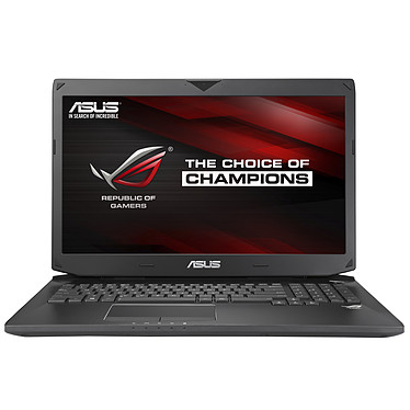 "ASUS G750JM-T4153H Intel Core i7-4700HQ 8 Go 1 To 17.3"" LED NVIDIA GeForce GTX 860M Lecteur Blu-ray Wi-Fi AC/Bluetooth Webcam Windows 8.1 64 bits (garantie constructeur 1 an)"