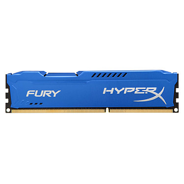 HyperX Fury 8 Go DDR3 1600 MHz CL10 RAM DDR3 PC12800 - HX316C10F/8