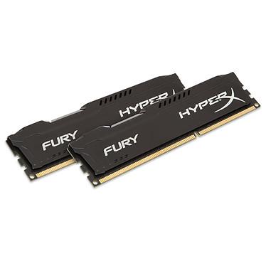 HyperX Fury 16 Go (2x 8Go) DDR3 1333 MHz CL9 Kit Dual Channel RAM DDR3 PC10600 - HX313C9FBK2/16