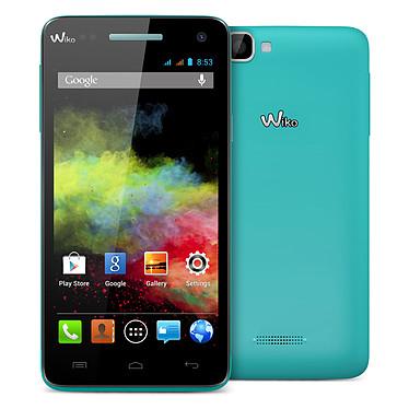 "Wiko Rainbow Turquoise Smartphone 3G+ Dual SIM avec écran tactile HD 5"" sous Android 4.2"