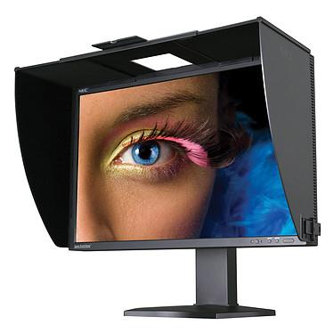 """NEC 24.1"""" LED - SpectraView Reference 242 1920 x 1200 pixels - 8 ms (gris à gris) - Format large 16/10 - Dalle IPS - Pivot - Hub USB - DisplayPort - Noir (garantie constructeur 3 ans)"""
