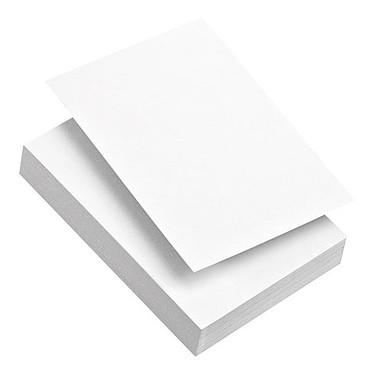 Fiches bristol 100 feuilles A4 blanc uni