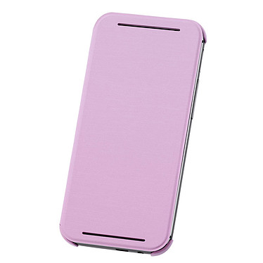 HTC Coque à Rabat Double Dip HC V941 Rose HTC One M8 Coque à rabat pour HTC One M8