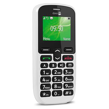 "Doro PhoneEasy 508 Blanc Téléphone 2G Grosses touches - Ecran 1.8"" 128 x 160 - Bluetooth 3.0 - 800 mAh"