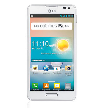 LG Optimus F6 Blanc