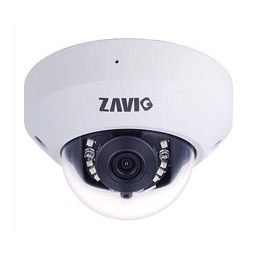 ZAVIO P6210 Caméra IP panoramique d'intérieur Mini Dome Full HD 1080p  jour/nuit PoE (Ethernet)