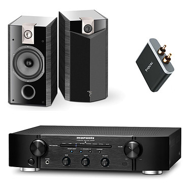 Marantz PM6005 Noir + Focal Chorus 806 V Ebony (par paire) + Focal Universal Wireless Receiver - aptX