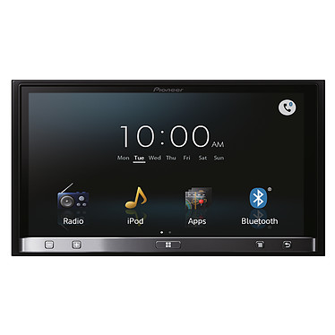 "Pioneer SPH-DA110 Autoradio connecté aux applications internet, écran 7"" capacitif, compatible Bluetooth, Android, iPhone 5 et MirrorLink"