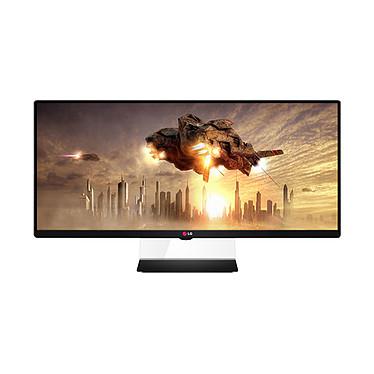 """LG 34"""" LED 34UM65 2560 x 1080 pixels - 5 ms - Format large 21/9 - Dalle IPS - HDMI - DisplayPort - DVI - Noir (garantie constructeur 2 ans)"""