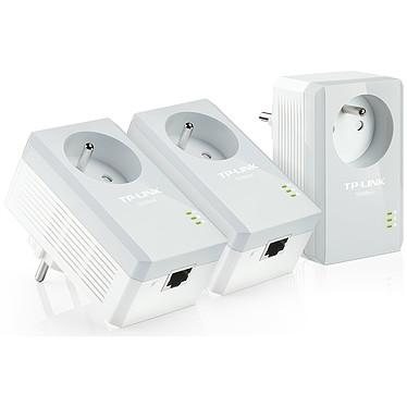 TP-LINK TL-PA4015PT KIT Pack de 3 adaptateurs CPL AV500 avec prise intégrée