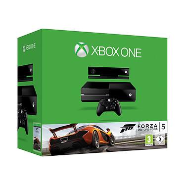 Microsoft Xbox One + Forza 5 Motosport Console Xbox One Noire 500 Go + Capteur Kinect + Forza 5 Motosport