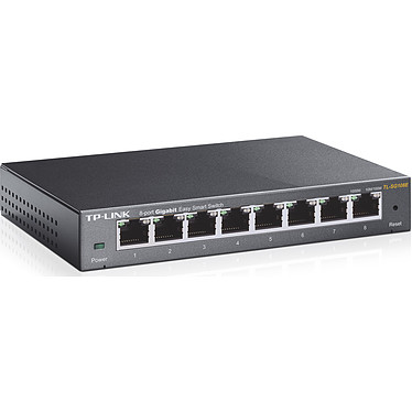 TP-LINK TL-SG108E Switch 8 ports Gigabit 10/100/1000 Mbps Easy Smart