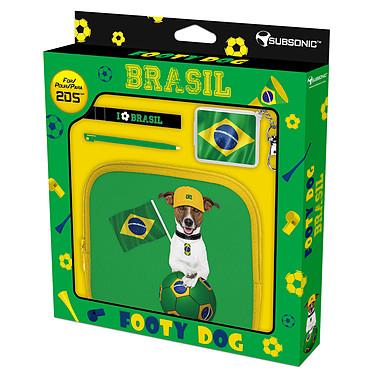 Subsonic Footy Dog Brazil (Nintendo 2DS)  Sacoche de rangement Nintendo 2DS et accessoires