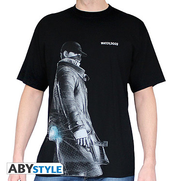 "Abystyle T-shirt ""Aiden"" Watch Dogs Taille S"