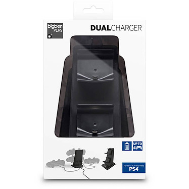 Bigben Dual Charger (PS4) pas cher