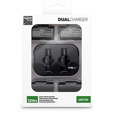 Bigben Dual Charger pour batteries (Xbox One)  pas cher